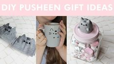 Pusheen Gift Ideas • Free tutorial with pictures on how to make a decoration in under 180 minutes