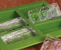 Hundred Dollar Bill Ice Cube Mold - Chill your Kool-Aid just like all the big money ballers do by dropping a couple of hundred dollar bill ice cubes in. The tray is made out of a flexible plastic and makes six hundred dollars per batch – nothing's better than some cold hard cash. $10.49
