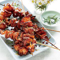 Grilled Balsamic-Molasses Bacon | MyRecipes.com