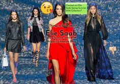 Elie Saab Spring Summer 2016 RTW Collection | 10 Things to Love