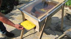 Researching: solar-powered beeswax extractors