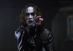 The Crow.  Brandon Lee as Eric.