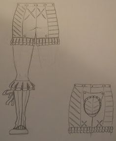 Ercc Glaison: Updated sketches for the Landsknecht outfit