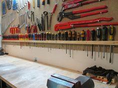 Da Screwdriver storage solutions - Page 3 - The Garage Journal Board. Tool storage ideas