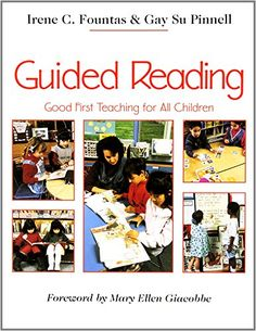 Guided Reading: Good First Teaching for All Children by Irene Fountas http://www.amazon.com/dp/0435088637/ref=cm_sw_r_pi_dp_RI1gub1P7R9GB