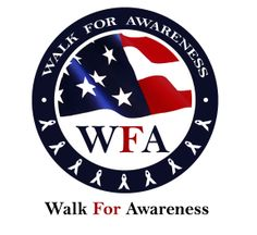 Walk for awareness Logo