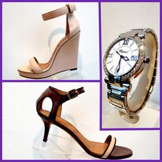Summer is near   Wedge by Givenchy  Sandal by Givenchy  Watch by Chopard