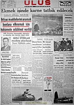 ulus gazetesi ilk kanun 1941