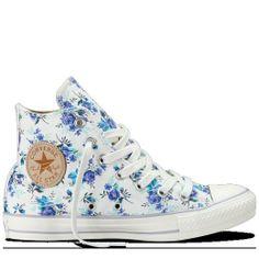 Converse - Chuck Taylor Floral - Hi - Natural on Wanelo