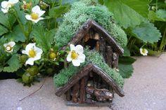 Small woodland Fairy House. $15.00, via Etsy.
