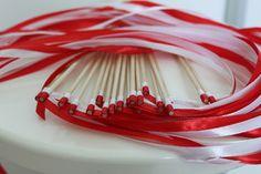 20 baguettes ruban pour haie d'honneur mariage : Accessoires de maison par lesfleursdamandine
