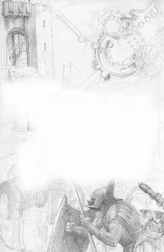 Helm's Deep by Alan Lee