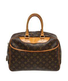 LOUIS VUITTON Pre Owned - Louis Vuitton Monogram Canvas Leather Deauville  Doctor Bag .   23b73ccf3d419
