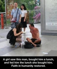Faith In Humanity Restored  25 Pics
