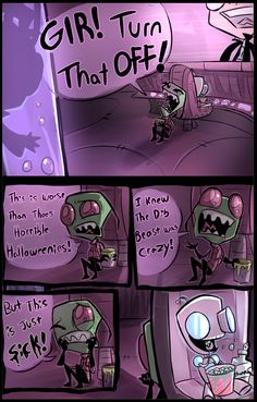 Dib's Trophy (continued part 5 ) by Skeleion on DeviantArt