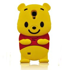 Cute Cartoon Bear 3D Soft Silicon Case for Samsung Galaxy S4 / Note 3