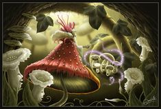 "Magic Mushrooms by daniellefw-i ""Fantafunghi"" di ⓛⓤⓐⓝⓐ"