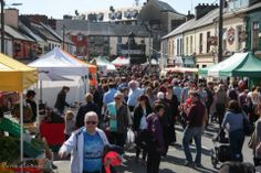 Popular Woodquay Country Market kicked off on Saturday for the Galway Food Festival. Photo by Patrick Lennon.