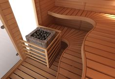 Head over to the web above simply click the link for further alternatives :- cedar sauna kit Sauna Design, Sauna Room, Bench, Indoor Pools, Waves, Saunas, Sewing Tips, Building, Dreams