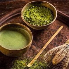 Matcha for a Monday. Have a great week! See you at the World Tea Expo! #tea