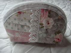 Small purse made with Tilda fabric scraps