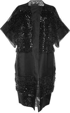 Antonio Berardi Embellished Sheer Duster Coat    | ≼❃≽ @kimludcom