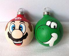 Adornos de Navidad Super Mario.  #adornosnavidad #adornosnavidadoriginales #navidad #christmas #adornosnavidadgeek #geek #supermario