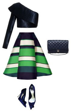 """""""Untitled #12"""" by jmspink-1 ❤ liked on Polyvore featuring Lanvin, Balmain, Christian Dior and Chanel"""