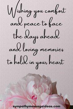 Condolences Messages For Loss, Words Of Condolence, Heartfelt Condolences, Sympathy Card Sayings, Greeting Card Sentiments, Sympathy Verses, Words Of Sympathy, Biblical Words Of Encouragement, Encouragement Quotes
