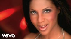 Toni Braxton - He Wasn't Man Enough (I never realized in the 90s, but with straight hair she reminds me now of a dark Jennifer Aniston)