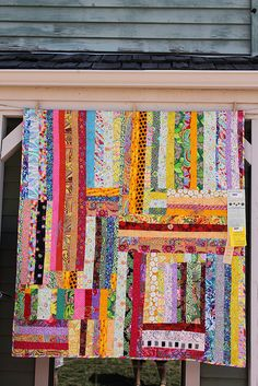 Gwen Marston, awesome use of scraps!