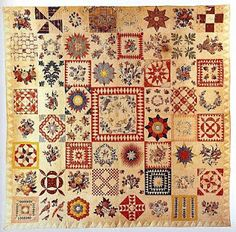I think this is the original Sarah Morrell Quilt?