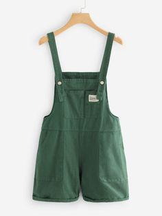 Shop Pocket Front Denim Overalls at ROMWE, discover more fashion styles online. Pretty Outfits, Cool Outfits, Summer Outfits, Casual Outfits, Modest Outfits, Skirt Outfits, Overalls Outfit, Denim Overalls, Jumpsuits For Girls