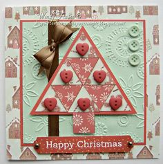 23 Confessions of a Papersniffer: Patchwork Christmas Tree