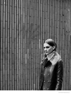 New Retro: Lena Hardt for LOfficiel Mexico September 2014 by Joe Lai