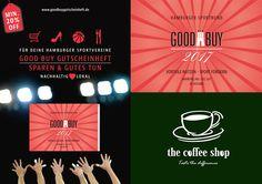 Auch in 2017 bleiben wir Partner des Goodbuy Gutscheinheft und  unterstützen Hamburger Sportvereine.  Durch den Erwerb des Goodbuy Gutscheinheft profitieren Sie  von den einmaligen Preisvorteilen und Angeboten der teilnehmenden Unternehmen und fördern zugleich den Sport.  SPAREN & GUTES TUN!  Das Goodbuy Gutscheinheft ist ein schönes Weihnachtsgeschenk!  #thecoffeeshop #tastethedifference #hamburg #specialtycoffee #goodbuygutscheinheft #sportfoerderung