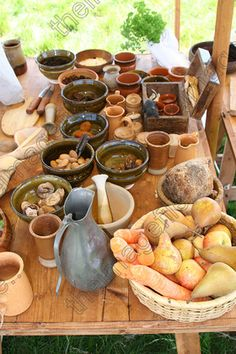 medieval food - Google Search
