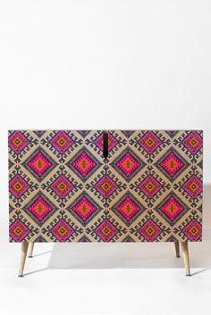 Holli Zollinger Shakami Bright Credenza | DENY Designs Home Accessories