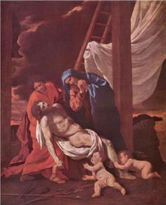 Descend from the Cross - Nicolas Poussin