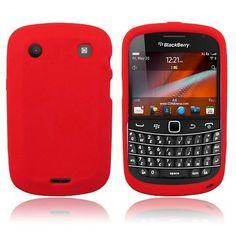 BlackBerry Bold 9900/9930 - Red Soft Silicone Skin Case Cover [AccessoryOne Brand] $0.05