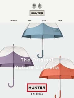 The Original Bubble Umbrella - Hunter Boots