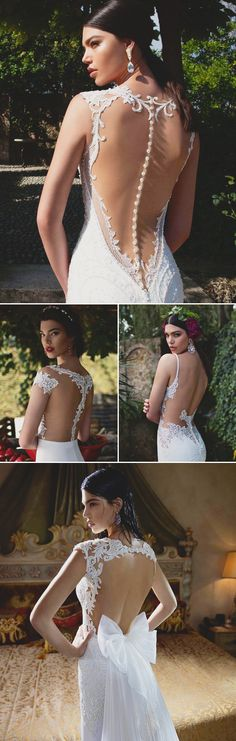 27 Wedding Dresses with Stunning Back Details from 2015 Bridal Market- Berta Bridal!