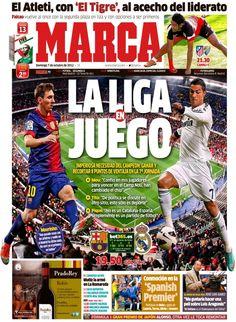 La Liga en juego | Portada del 7 de octubre de 2012