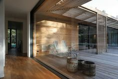 Glass, wooden screens - check