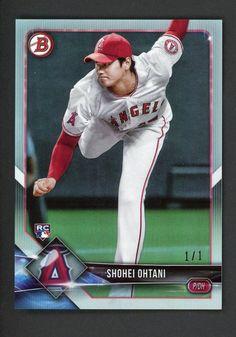 17f107ec04 2018 Bowman Platinum Foil #49 Shohei Ohtani Angels RC Rookie 1/1