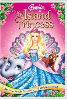 Barbie as the Island Princess.  My daughter's first introduction to the world of Barbie!
