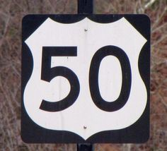 Everyone in the car was yelling at my dad because he told us to stay on 50 the whole way. Lol!