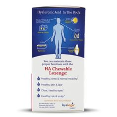 Amazon.com: HA Chewable Lozenge For Joint & Cartilage Health - Joint Support By Hyalogic - 60 Chewable Lozenges - Mixed Berry Flavor: Health & Personal Care