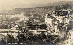 GENOVA - Panorama - FOTO STORICHE CARTOLINE ANTICHE E RICORDI DELLA LIGURIA