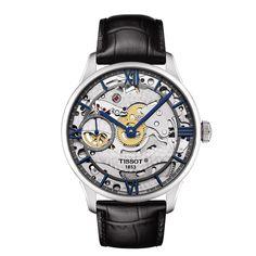 10 montres a moins de 2000 euros: TISSOT Chemin des Tourelles Squelette